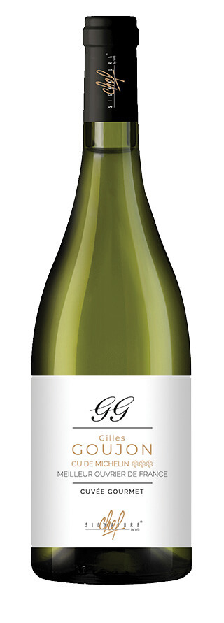 Signature de chef Gilles Goujon vin blanc