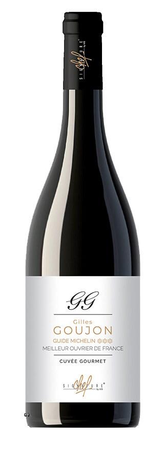 Signature de chef Gilles Goujon vin rouge