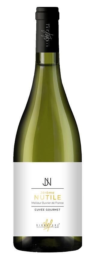 Signature de chef Jérôme Nutile vin blanc