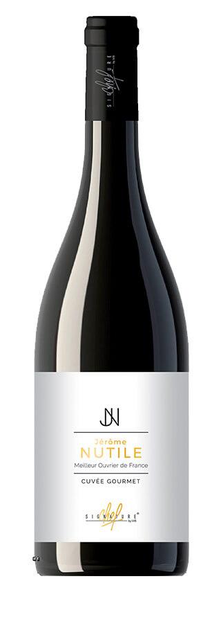 Signature de chef Jérôme Nutile vin rouge