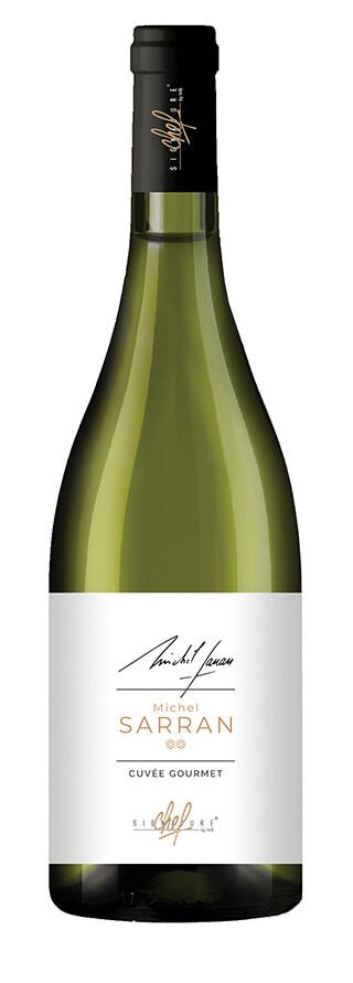Signature de chef Michel Sarran vin blanc