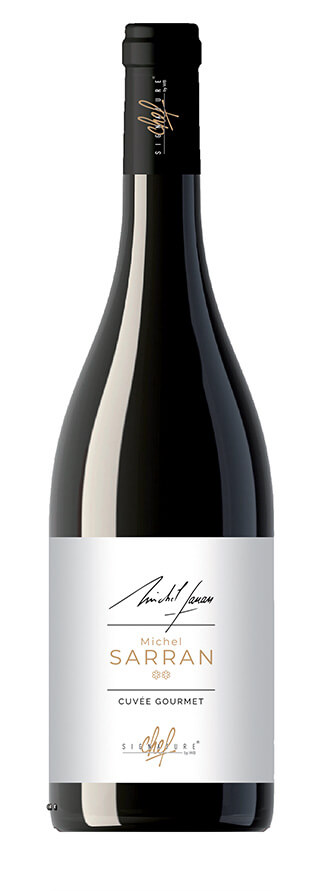 Signature de chef Michel Sarran vin rouge