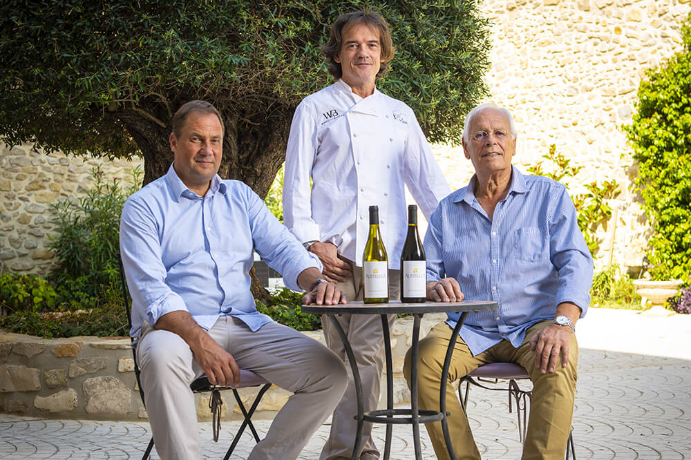 Austellus – A premium wine designed by the Chef Manuel Maury