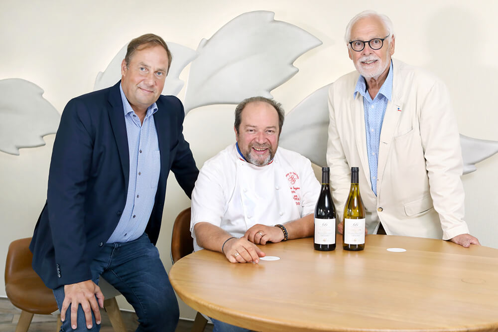 Wines and Brands launches a new Signature Chef collection with the Chef Gilles Goujon