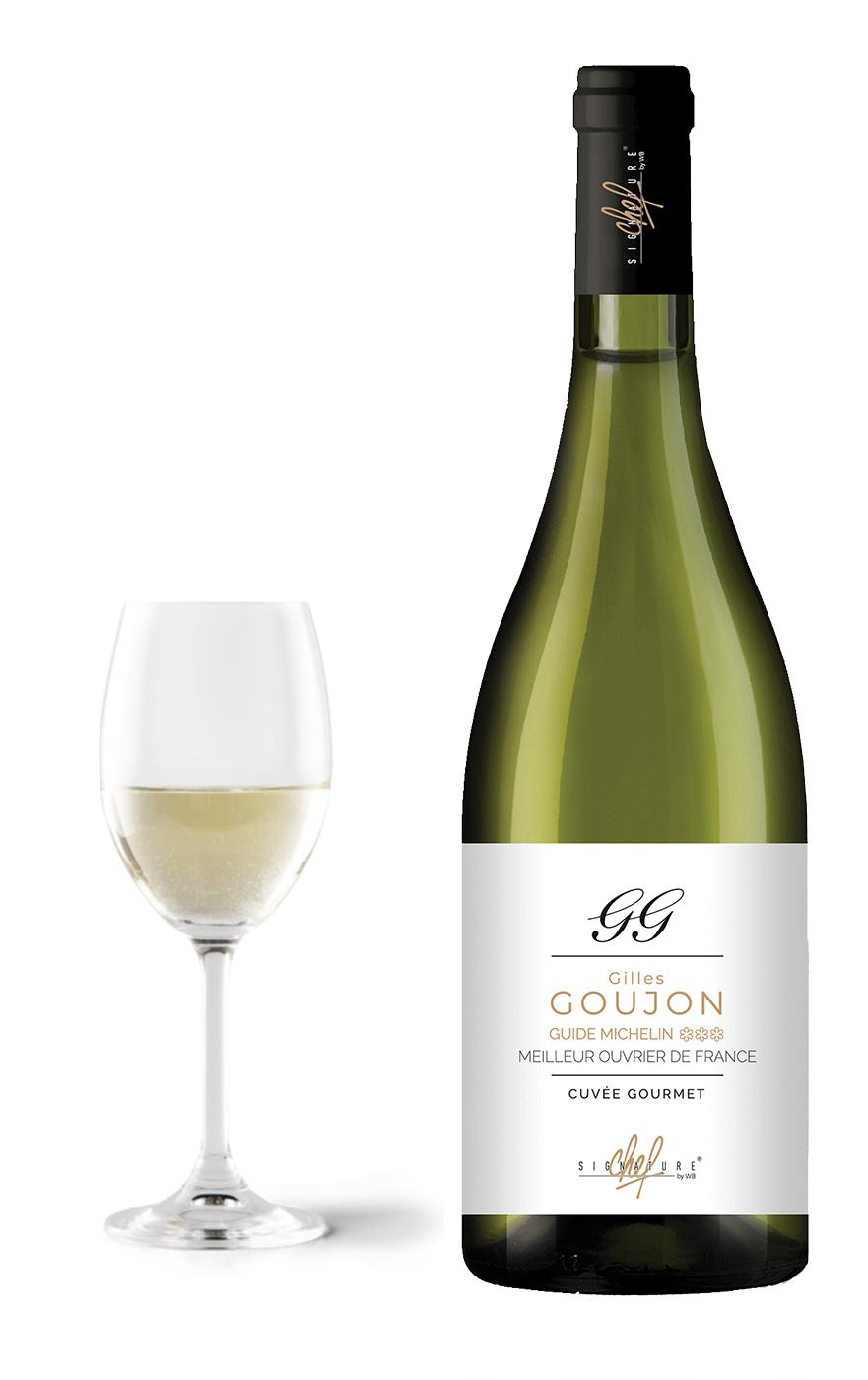 Gilles Goujon - Vin blanc Chardonnay - Signature Chef