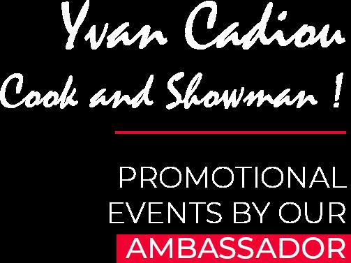 Yvan Cadiou Wine Ambassador