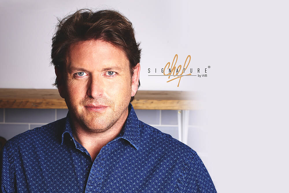Launch partnership with english Chef James Martin