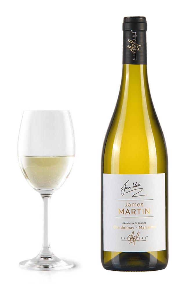 Cuvée James Martin, blanc chardonnay marsanne dégustation