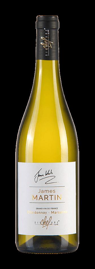 Cuvée James Martins, blanc chardonnay marsanne